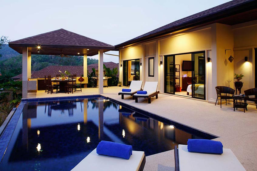sapphire villa nai harn phuket holiday rental infinity edge pool sala sundeck
