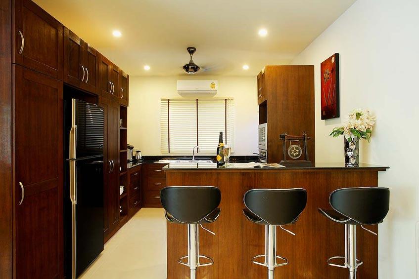 topaz villa nai harn phuket holiday rental fully fitted western kitchen