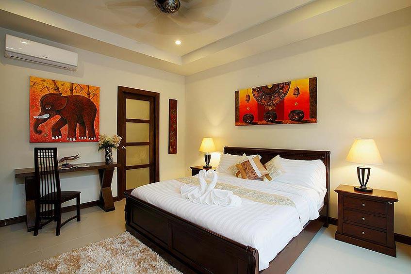 topaz villa nai harn phuket holiday rental double bedroom