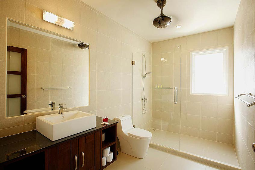 topaz villa nai harn phuket holiday rental ensuite bathroom shower wc