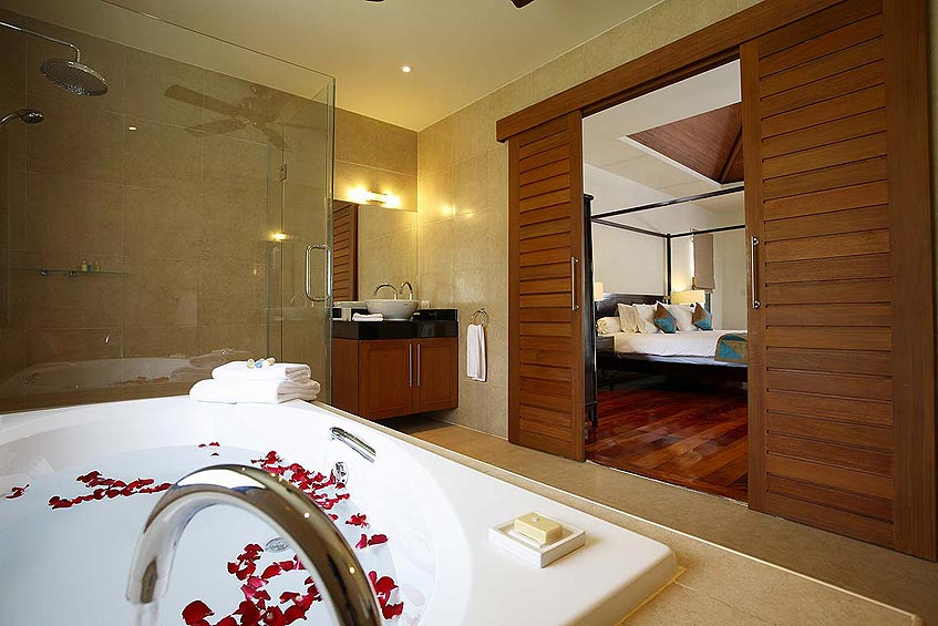 villa maria nai harn phuket holiday rental ensuite luxury bathroom bath rainshower