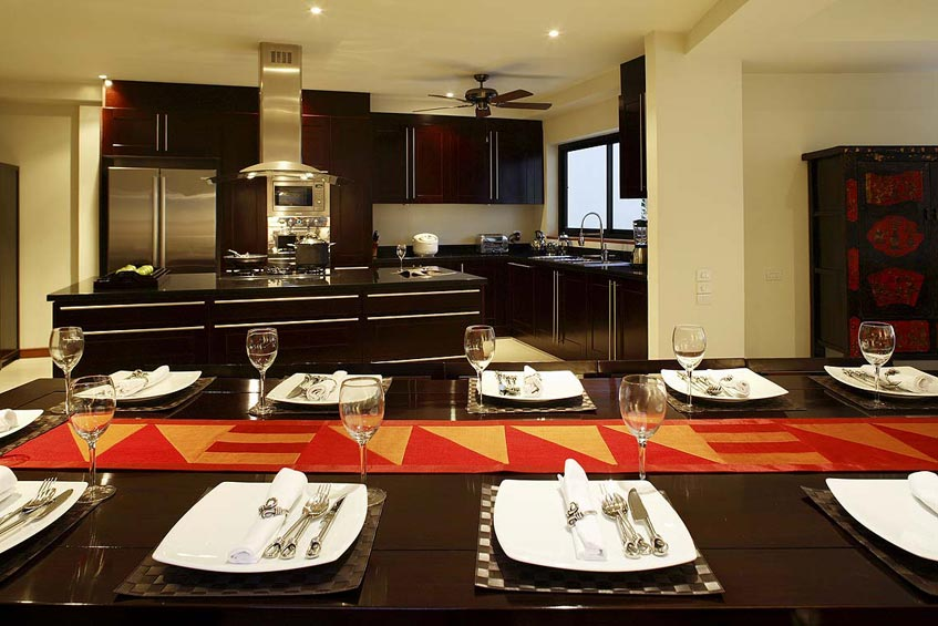 villa maria nai harn phuket holiday rental dining are fully fitted western kitchen