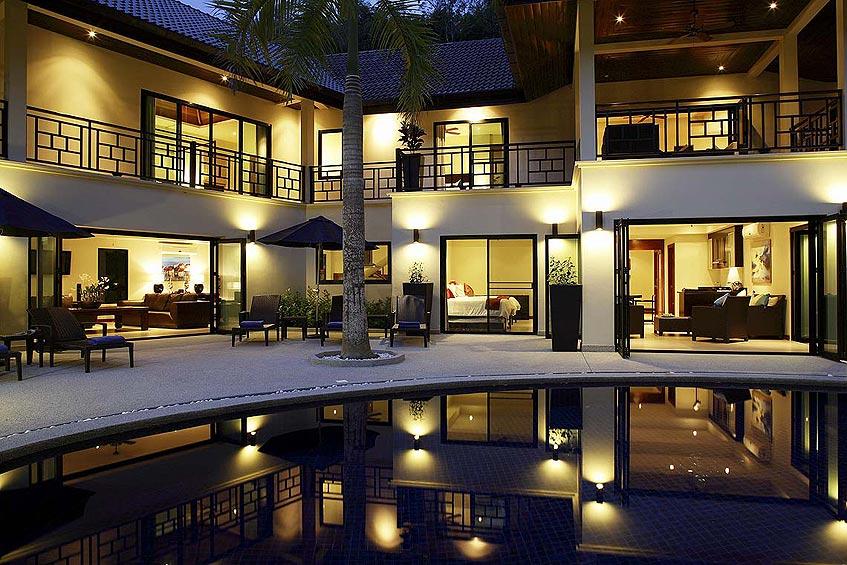 villa maria nai harn phuket holiday rental pool sundeck gardens