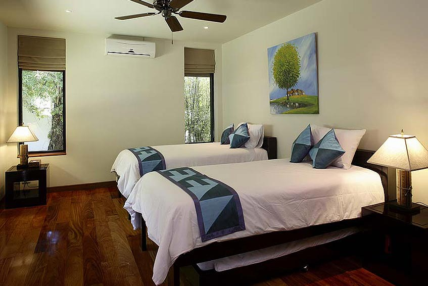 villa maria nai harn phuket holiday rental twin bedroom