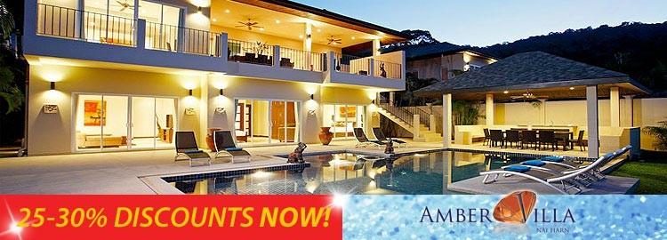 amber villa luxury holiday rental nai harn phuket