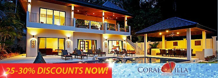 coral villa luxury holiday rental nai harn phuket