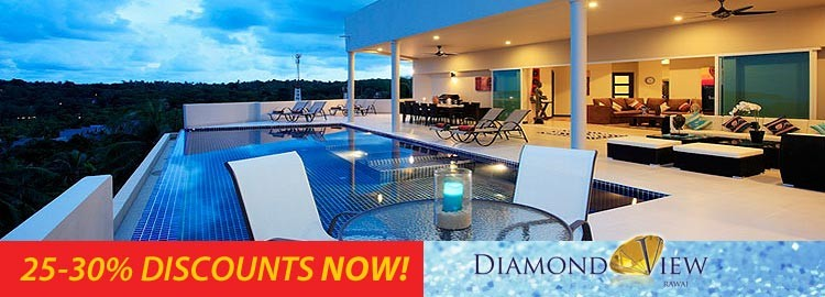 diamond view villa luxury holiday rental nai harn phuket