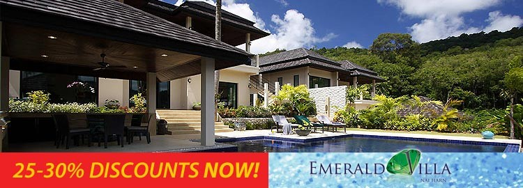 emerald villa luxury holiday rental nai harn phuket