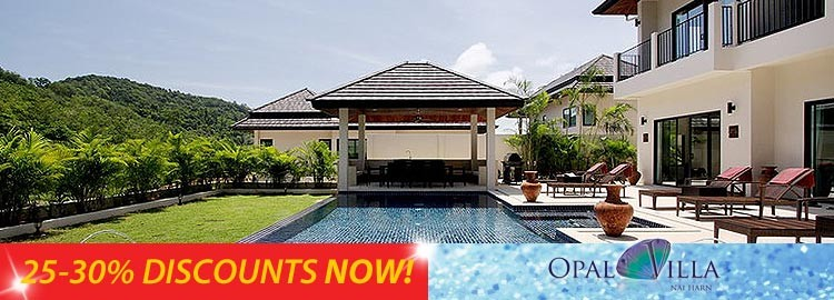 opal villa luxury holiday rental nai harn phuket