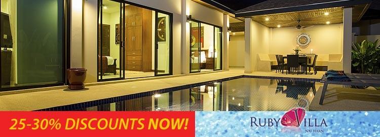 onyx villa luxury holiday rental nai harn phuket
