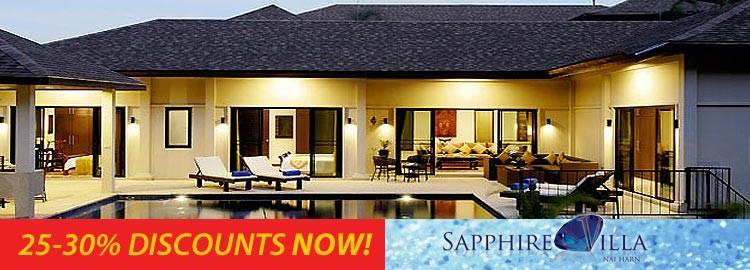 sapphire villa luxury holiday rental nai harn phuket