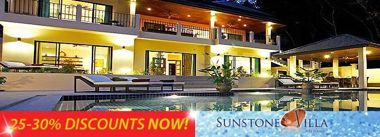 sunstone villa luxury holiday rental nai harn phuket
