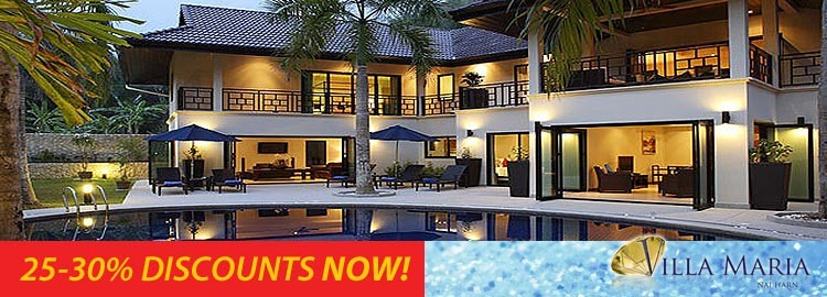 villa maria luxury holiday rental nai harn phuket