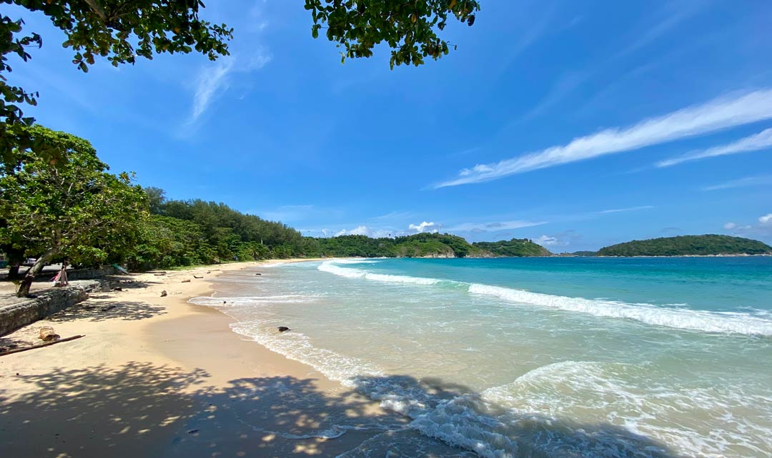 nai harn beach pristine sands during the covid 19 crisis nature fights back