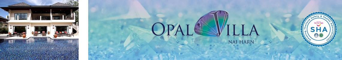 opal villa nai harn phuket is SHA approved for Heath and safety