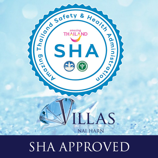 SHA PLUS+ approved the villas phuketSafe covid approved villa rentals